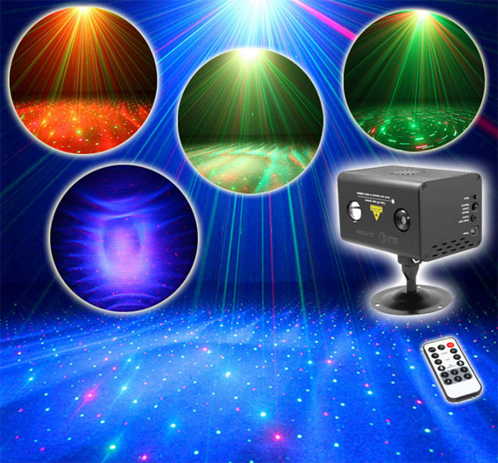 The new Hawkeye laser light Full color Babysbreath ceiling laser