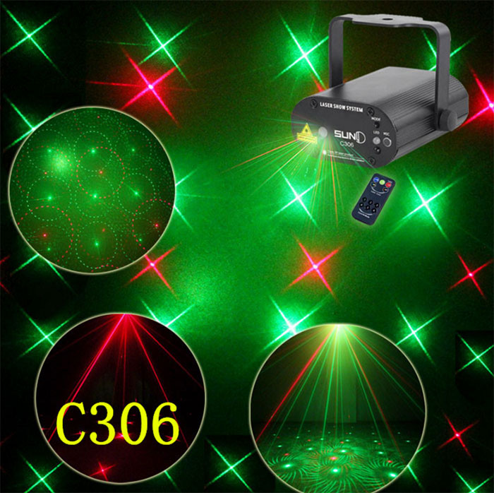 Mini Laser Stage KTV bar lamp Party show laser light