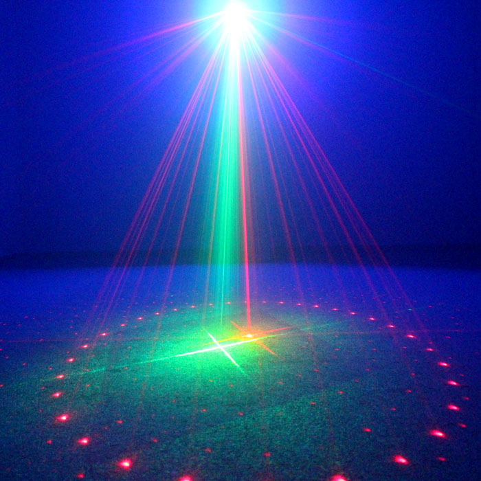 Outdoor Waterproof Laser Lamp Full Color Christmas Laser Lights